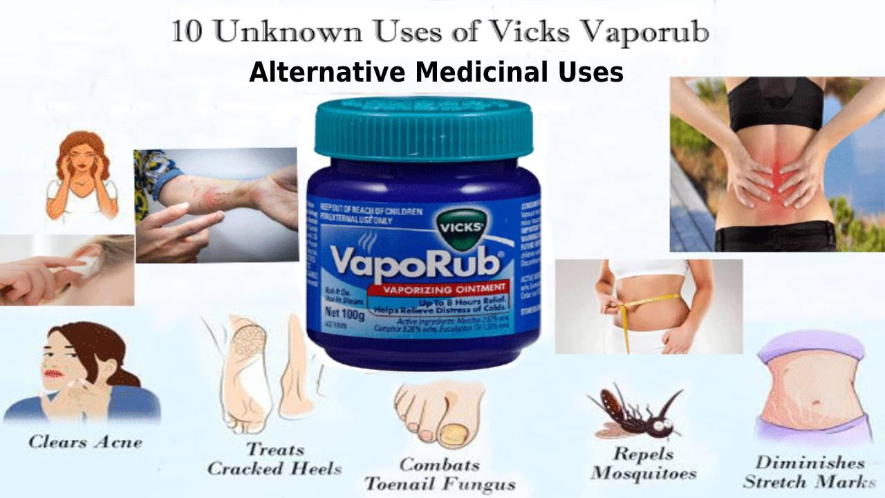 Alternative Medicinal Uses of Vicks Vapourub
