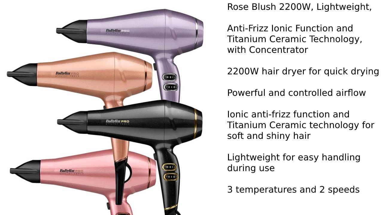 BaByliss 5337PRE Hair Dryer