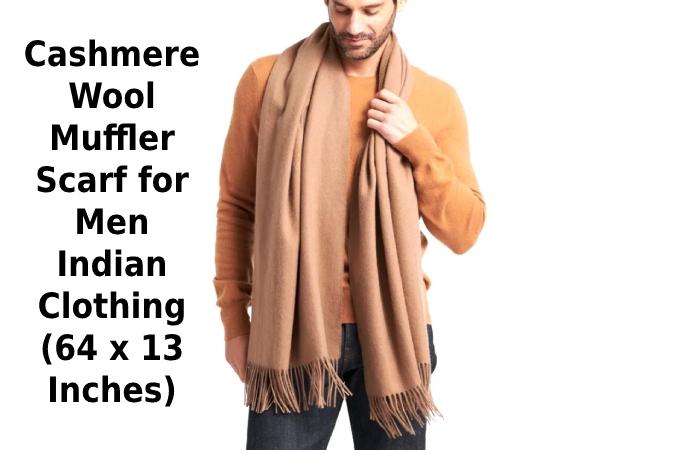 Cashmere Wool Muffler Scarf