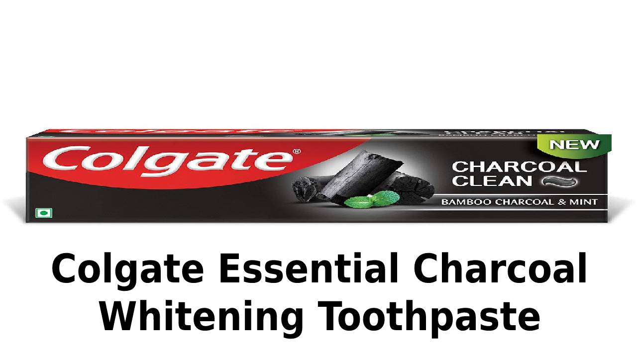 Colgate Essential Charcoal Whitening Toothpaste