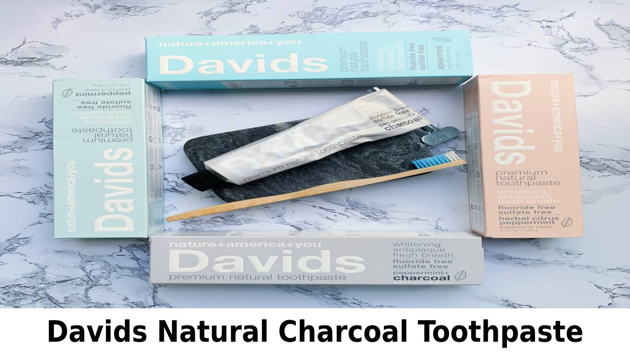 Davids Natural Charcoal Toothpaste