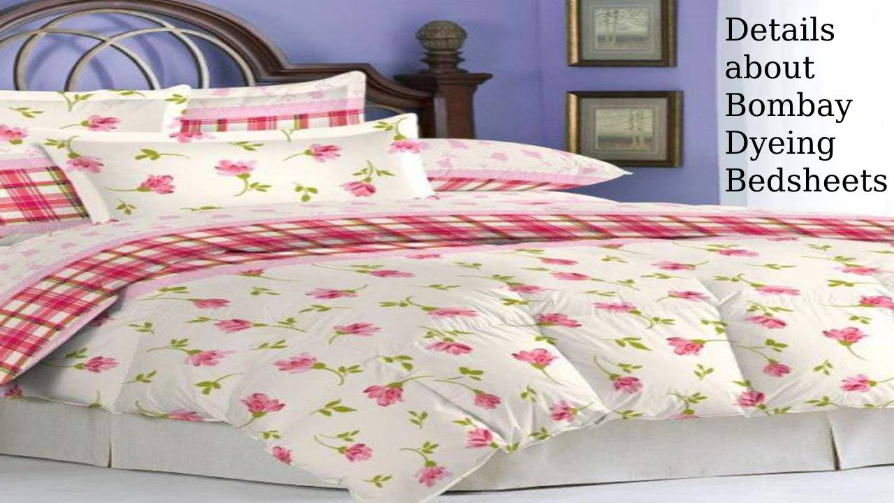 Details about Bombay Dyeing Bedsheets