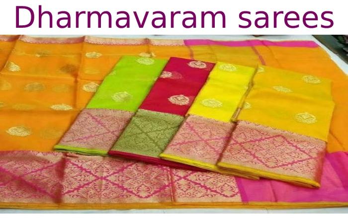 Dharmavaram sarees