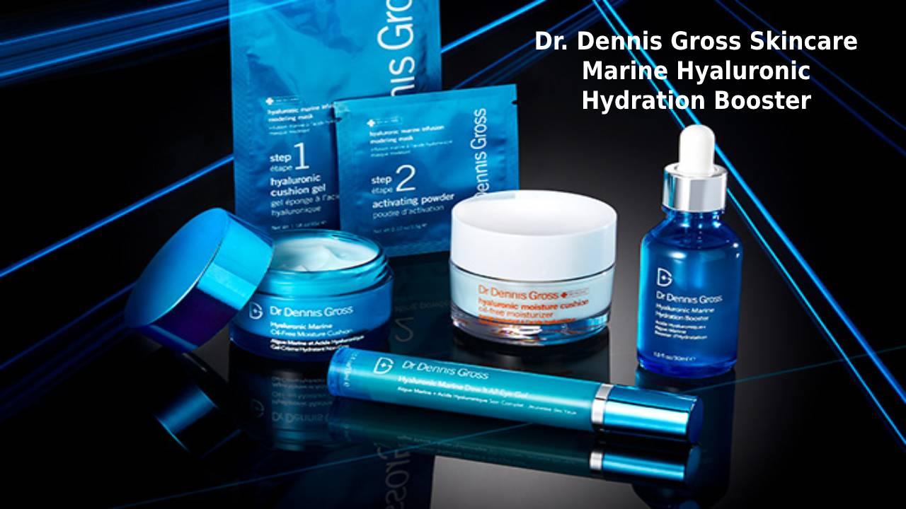 Dr. Dennis Gross Skincare Marine Hyaluronic Hydration Booster