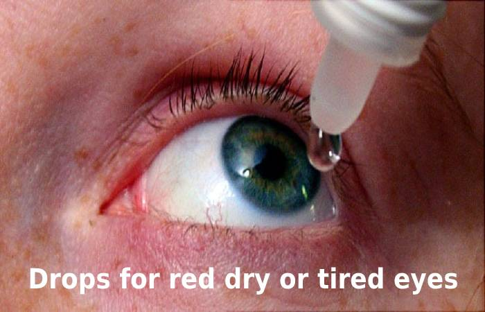 Drops for red dry or tired eyes (1)