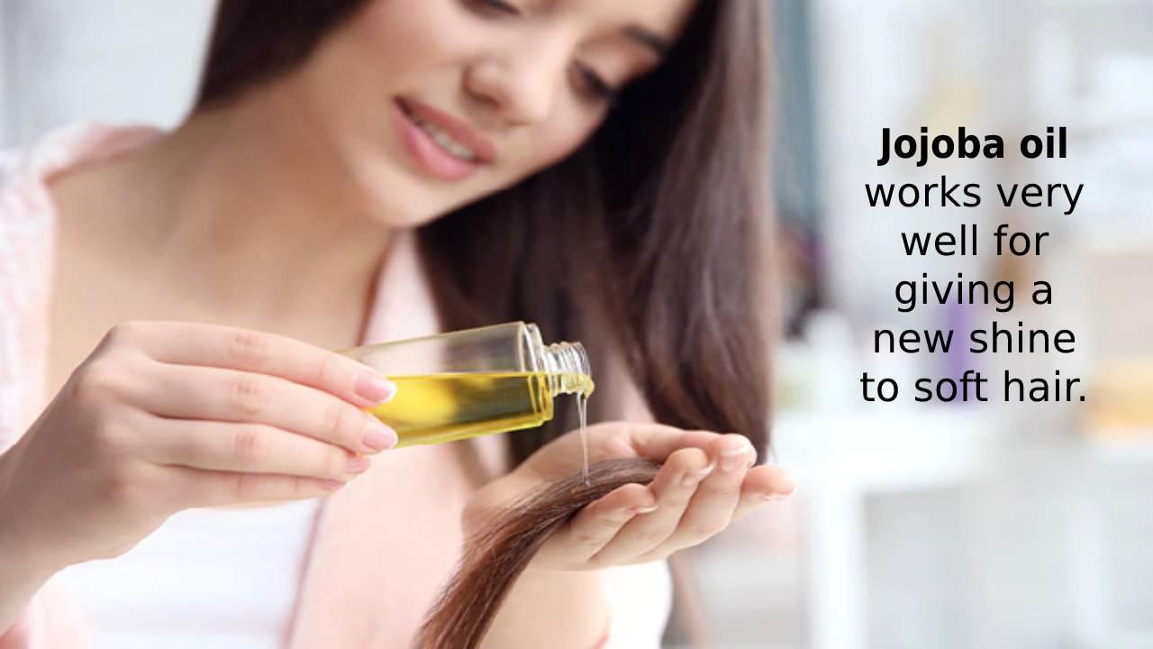 Jojoba oil for the hair