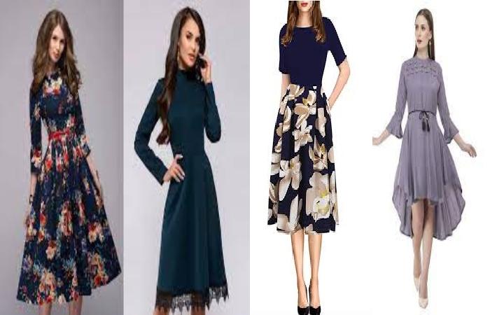 Knee Length Dresses (5)