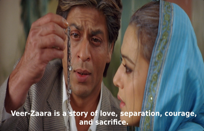 More About Veer Zaara Movie Download Filmyzilla(2004)