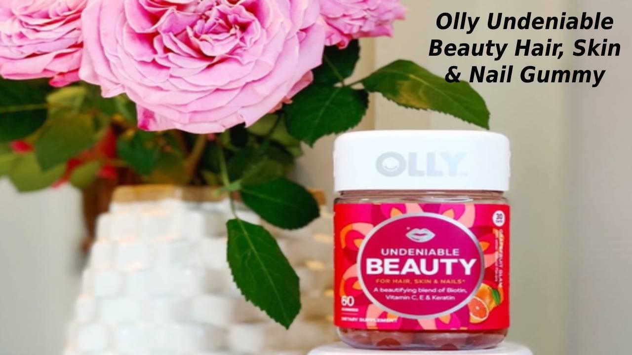 Olly Undeniable Beauty Hair, Skin & Nail Gummy