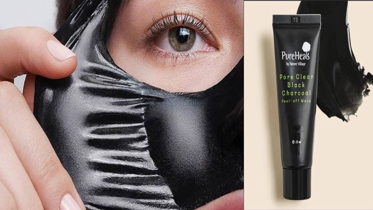 PUREHEALS Pore Clear Black Charcoal Peel Off Mask