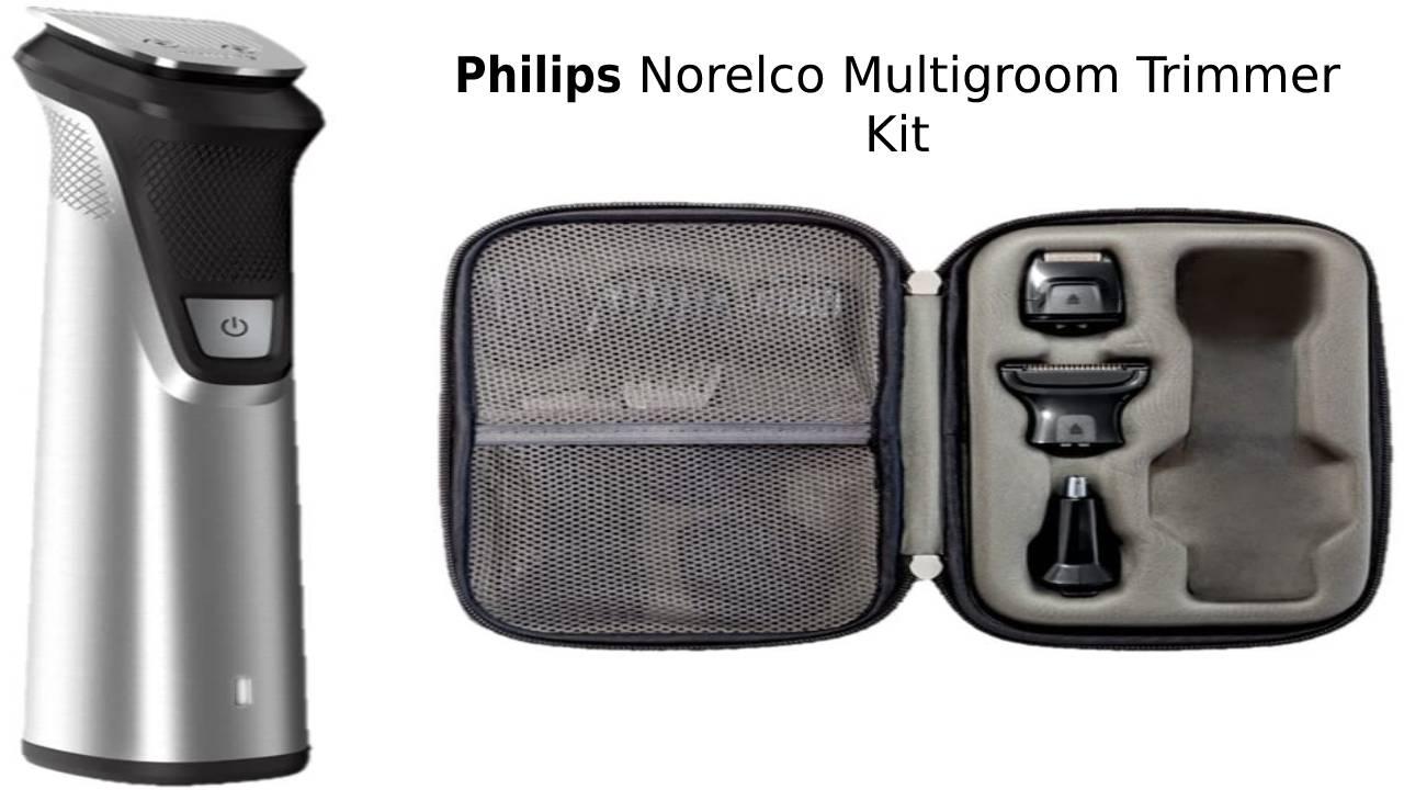 Philips Norelco Multigroom Trimmer Kit