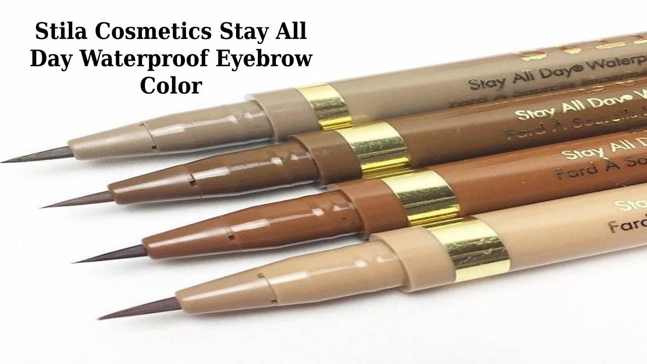 Stila Cosmetics Stay All Day Waterproof Eyebrow Color