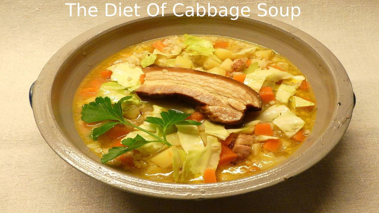 The Diet Of Cabbage Soup