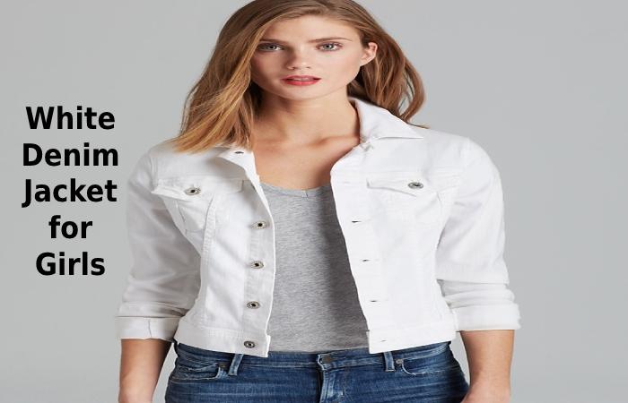 White Denim Jacket for Girls