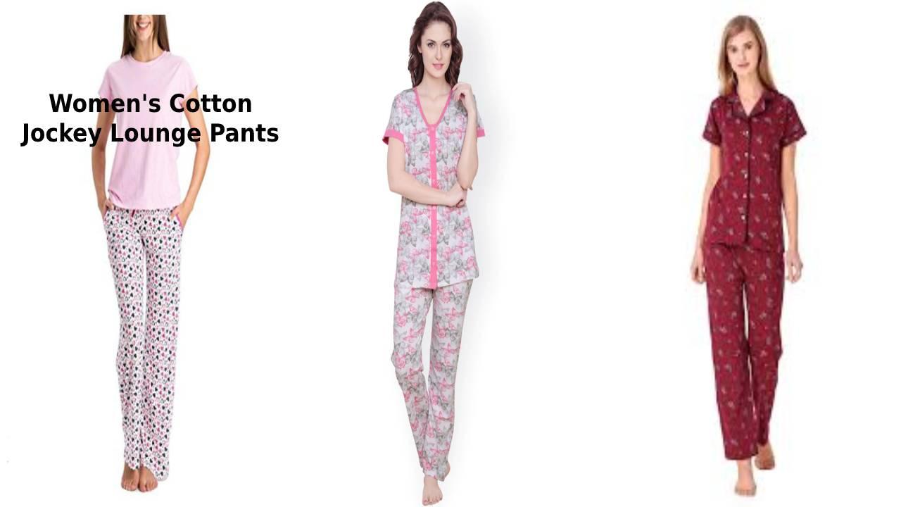 Women's Cotton Jockey Lounge Pants